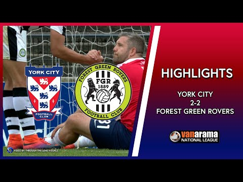 HIGHLIGHTS: York City 2-2 Forest Green Rovers (29/04/2017)