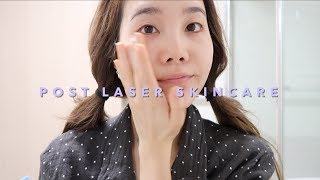 Korean Skincare Routine after Acne Laser Treatments🌙