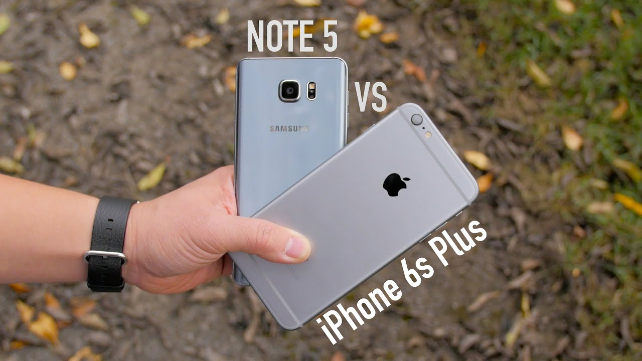 Apple iPhone 6S Plus and Samsung Galaxy Note 5 - Full Comparison