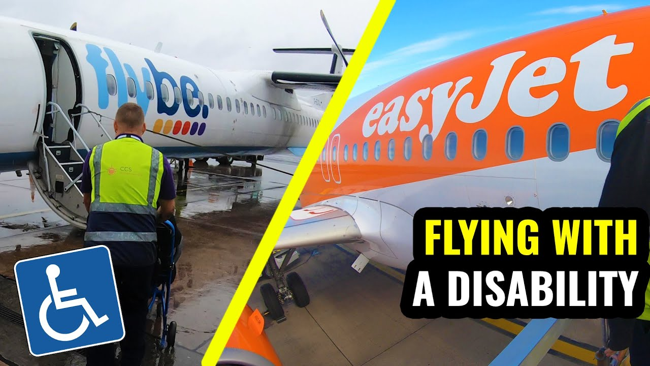 AIRPORT ASSISTANCE: Flying with a Disability - easyJet vs Flybe ♿