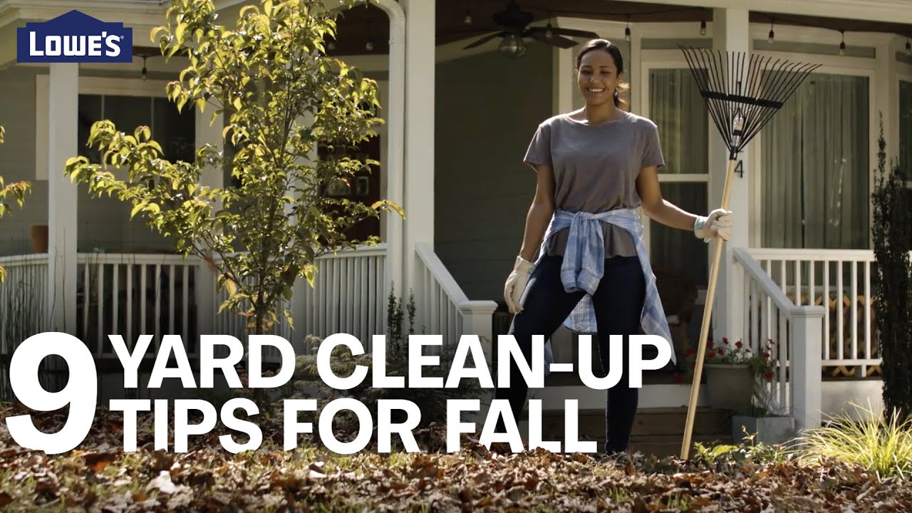 9 Easy Yard Clean-Up Tips for Fall