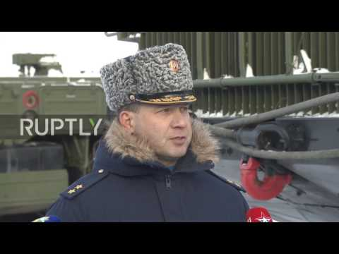 Russia: Moscow anti-aircraft division reinforced with S-400 missile system