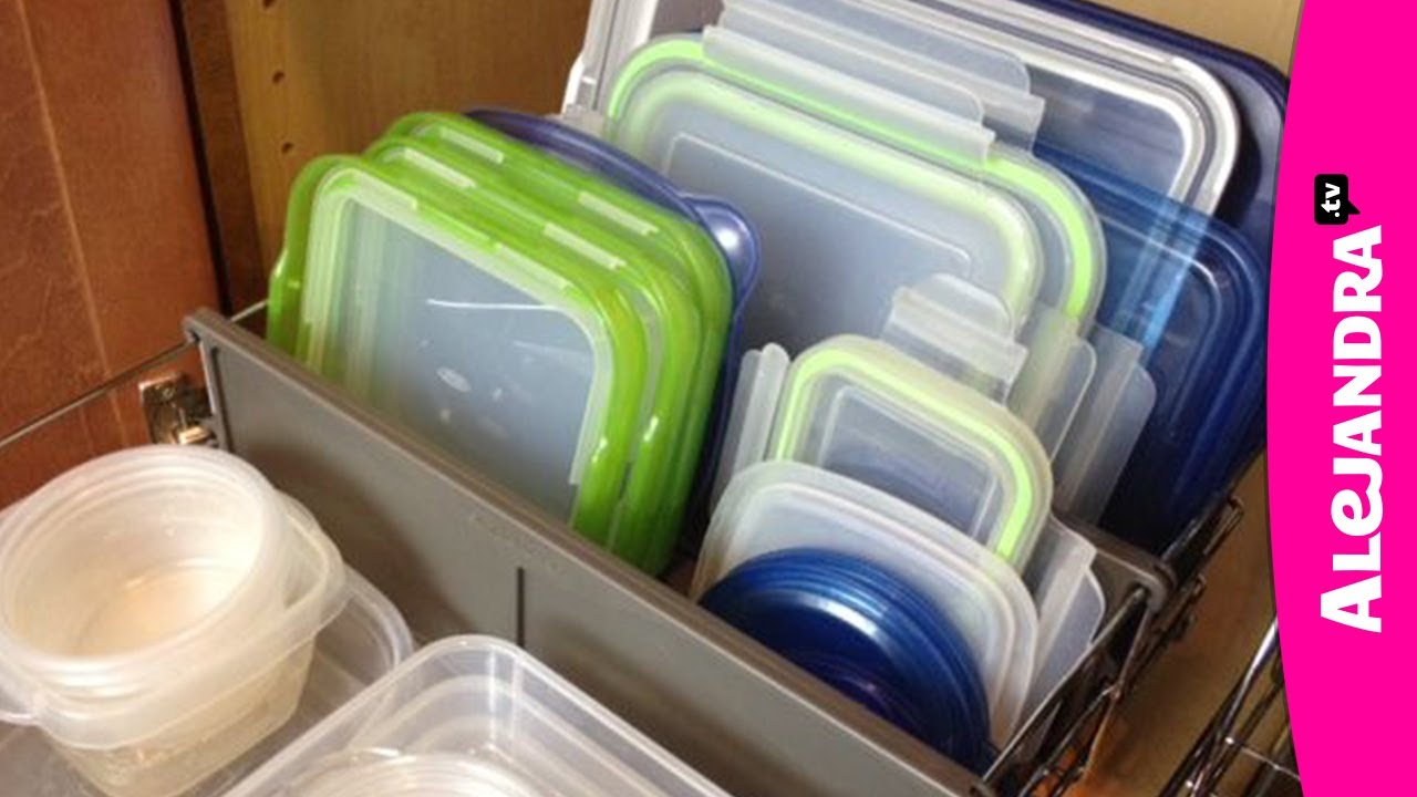 & How to Organize Food Storage Containers - YouTube