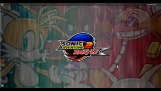60 FPS ROBLOX: Sonic Adventure 2 Menu Remake [2014]