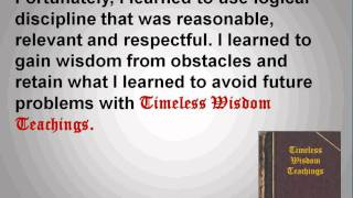 A Testimony of Timeless Wisdom Teachings