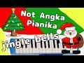 Not Angka pianika - Jingle bells - C = do