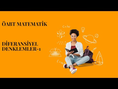 ÖABT MATEMATİK-DİFERANSİYEL DENKLEMLER-1 (tanım, Mertebe, Derece..)