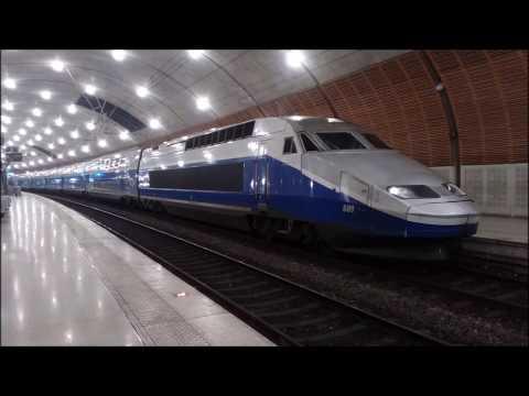 Train à Monaco,RZD,Thello,TGV,TER
