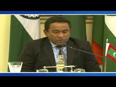 State Visit President of Maldives to India Signing of Agreements & Media statements Jan 2, 2014
