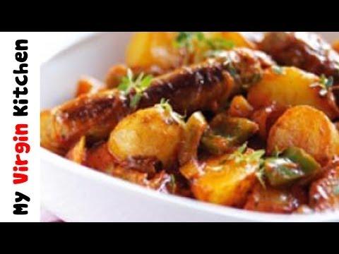 Simple Sausage Casserole - MYVIRGINKITCHEN