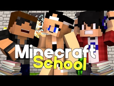 First Day | Minecraft School [S1: Ep.1 Minecraft Roleplay Adventure]