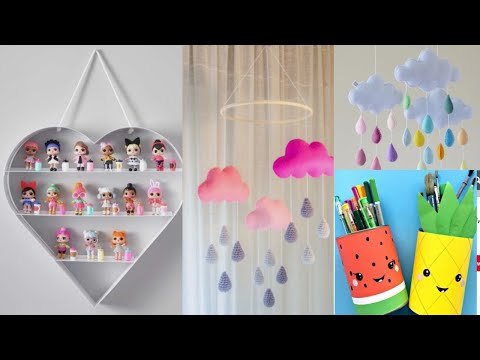 diy-|-kids-room-decorating-ideas-|-3-different-colorful-ideas-to-decorate-children-rooms