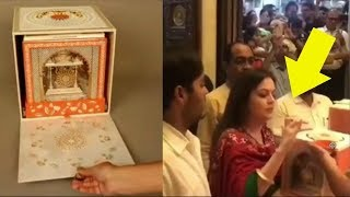 Mukesh Ambani's Son Akash Ambani And Shloka Mehta's 1.5 Lacs Rs Royal Wedding Card Leaked