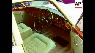 50 vintage cars on display in downtown NY ahead of auction