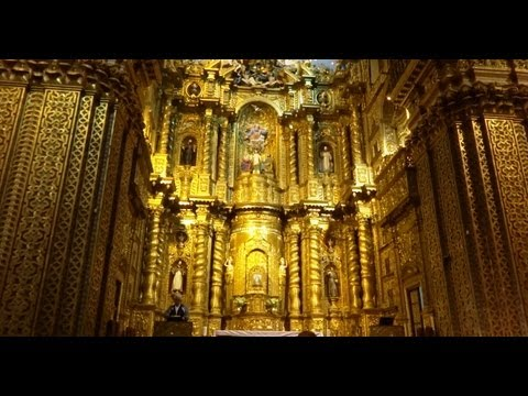 Church of the Society of Jesus: La Compañía of Quito