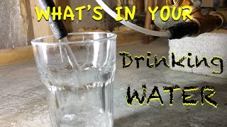 What's in your water?  - HM TDS 4 Meter - Testing on home water plant