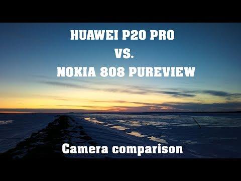 Huawei P20 Pro vs. Nokia 808 Pureview