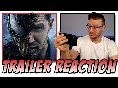 VENOM   2 2018 Reaction!  Starring Tom Hardy