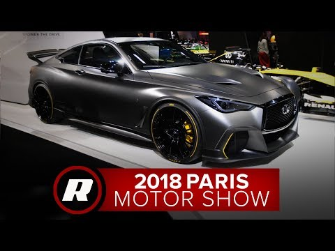 Infiniti Project Black S uses a dual-hybrid system right out of Formula 1 | 2018 Paris Motor Show