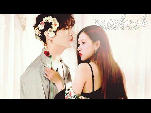 BTS × BLACKPINK { JUNGKOOK & ROSE } cute and funny moments FMV / ROSEKOOK