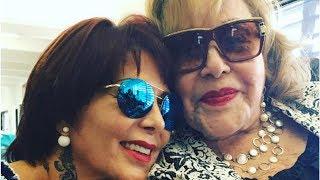Silvia Pinal se pronuncia por primera vez sobre la serie de su hija Alejandra Guzmán