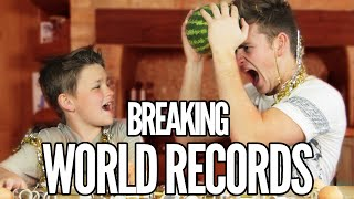 BREAKING WORLD RECORDS