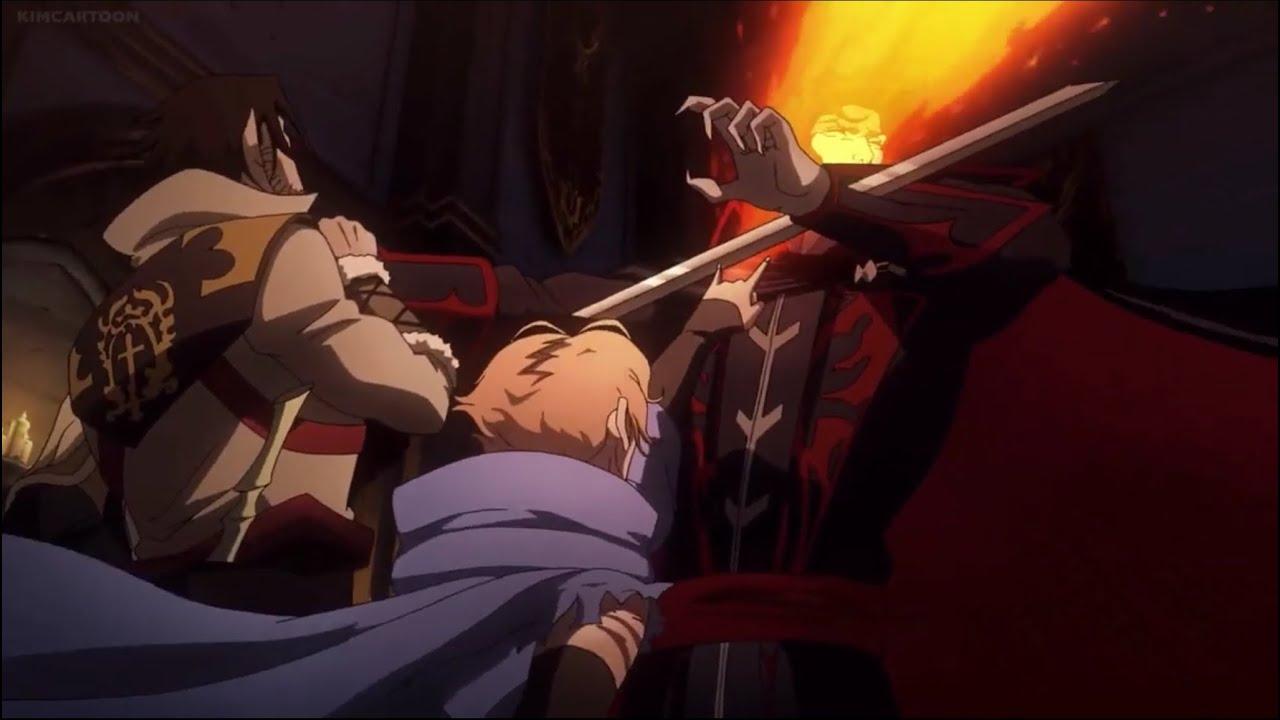 Download Castlevania (Netflix) 2x7 Trevor, Alucard, & Sypha vs Dracula (1/3)