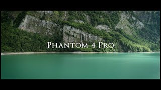 Phantom 4 Pro Cinematic Switzerland Kloentalersee 4K