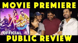 Mar Gaye Oye Loko Movie Premiere | Public Review | Gippy Grewal | Binnu Dhillon | DAAH Films