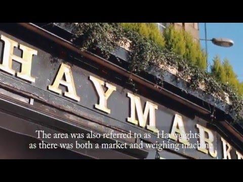 HayMarket in Edinburgh, Scotland