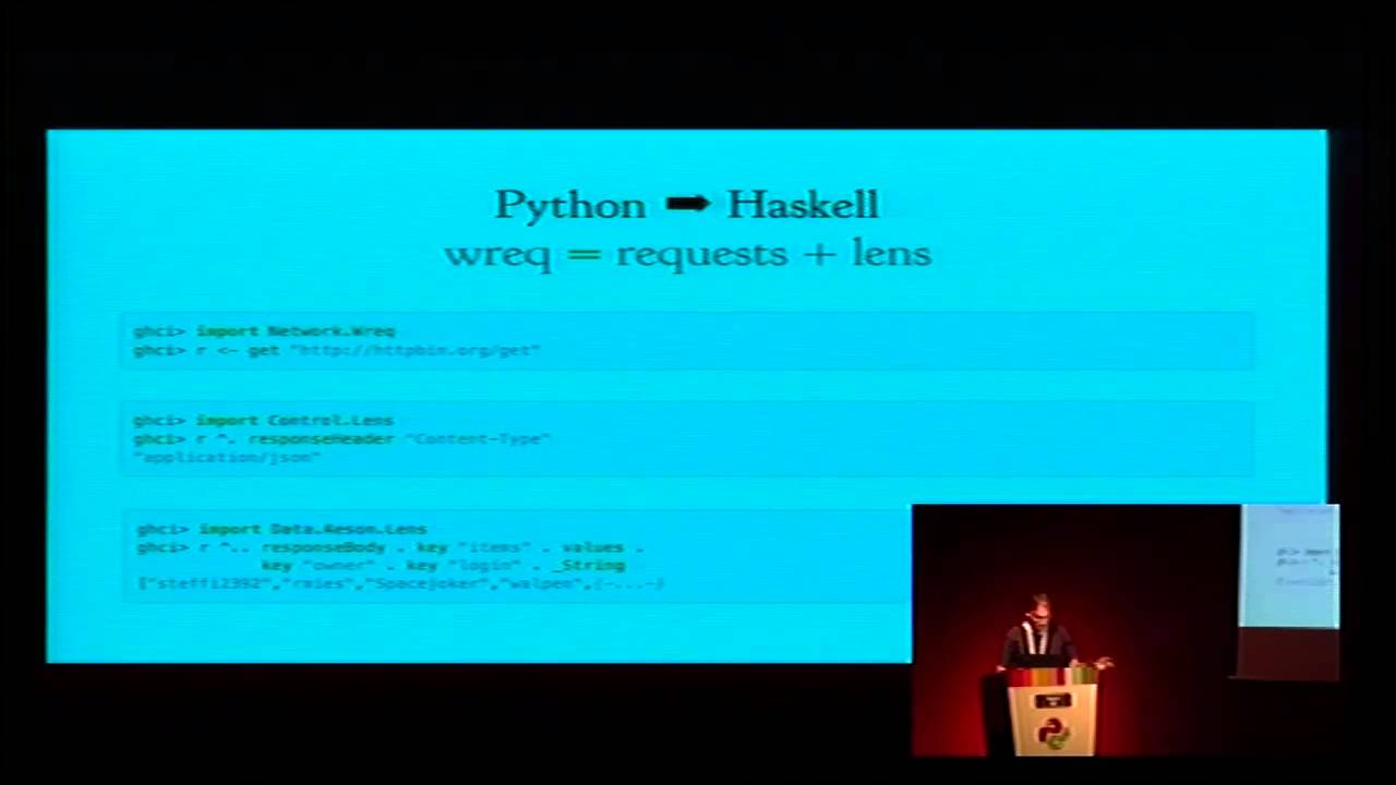 Image from Through the lens of Haskell: exploring new ideas for library design