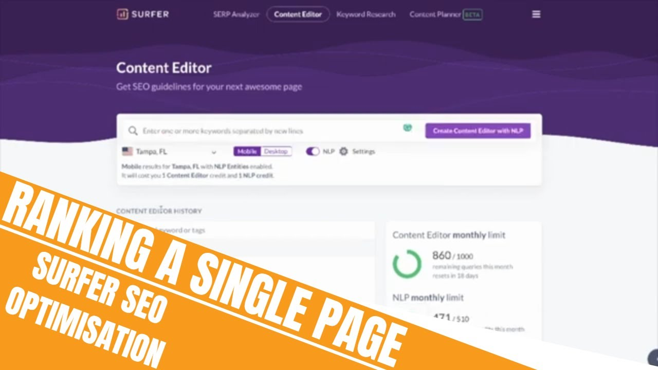 Download How to Rank a Single Page for Thousands of Keywords | Surfer SEO Optimisation
