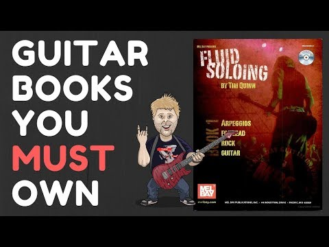 Guitar Books You Must Own - Fluid Soloing 1 - Arpeggios For Lead Rock Guitar
