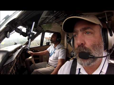 Landing at Obo Mission (FEFB) in Central Africa Republic