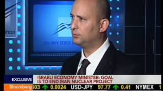 Naftali Bennett On Bloomberg TV - 03.10.2013