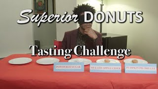 Jermaine Fowlers Superior Donuts Tasting Challenge