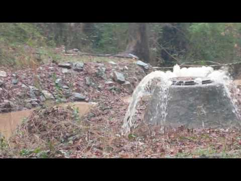 Raw sewage Tucker,GA 1212017