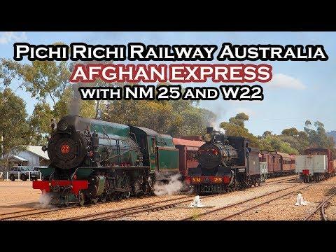 Pichi Richi Railway Australia - Double Headed Afghan Express