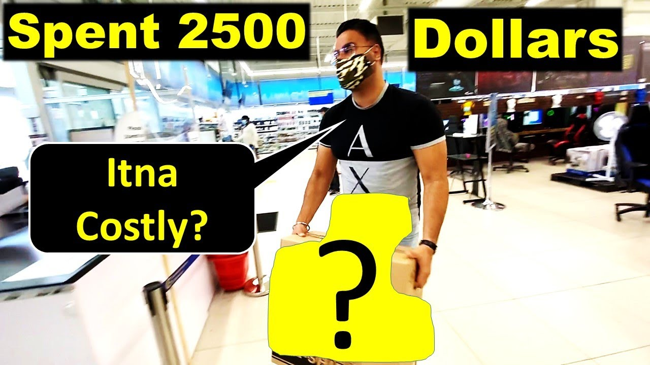 Spent 2500 Dollars On This In Canada 😲 | Canada Couple Vlogs