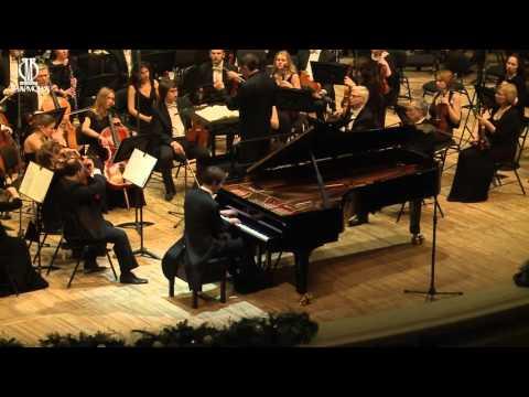 Nikolai Lugansky plays Rachmaninoff piano concerto no. 2 in C minor, Op 18