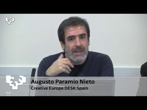 Creative Europe and Europe for Citizens Augusto Paramio Nieto – Creative Europe- CULTURE DESK Spain.