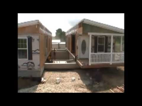 Modular home installation on design a mobile home, blocking a mobile home, setting footers for modular home,