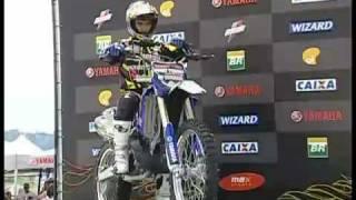 Veja a volta vencedora de Joaninha na Copa Brasil - Motocross
