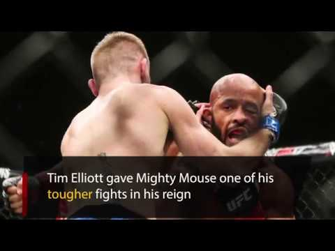 Tim Elliott deserves credit for his fight against Mighty Mouse