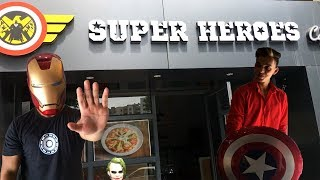 INDIAS FIRST SUPER HERO CAFE🔥IN PUNE MOST AMAZING PLACE TO VISIT IN PUNE WITH GREAT FOOD