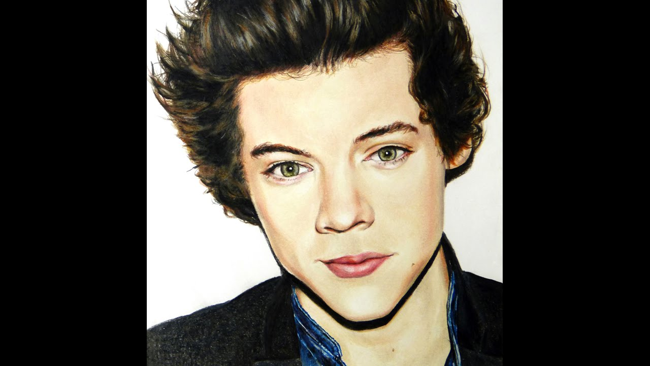 Harry Styles Drawing, One Direction
