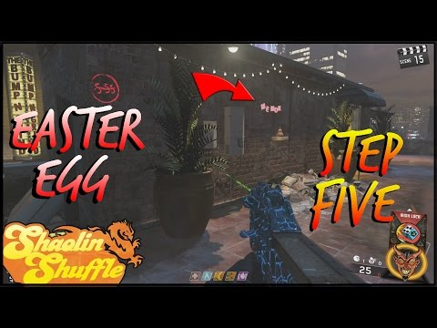 """""""Shaolin Shuffle"""" Easter Egg Guide! Step 5: Rooftop Cymbols In Depth"""