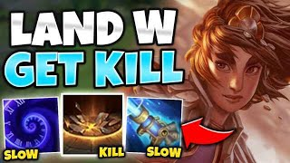 WTF?! THIS TALIYAH ZILEAN COMBO IS A GUARANTEED KILL! (ONE SHOT) - League of Legends