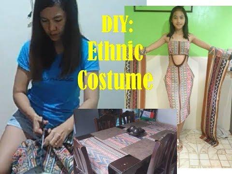 DIY: Ethnic Costume (modernized), Sarling Tahi, Simple Pero May Dating.