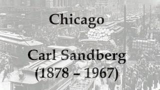 """""""Chicago"""" by Carl Sandburg (read by Tom O"""